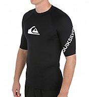 Quiksilver All Time Short Sleeve Surf Shirt Rash Guard EQYWR033
