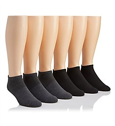 Reebok Low Cut Arch Athletic Socks - 6 Pack 173LC17