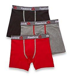 Reebok Stretch Boxer Briefs - 3 Pack 173PB17