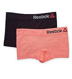 Reebok Seamless Scales Boyshort Panty - 2 Pack 173UH01