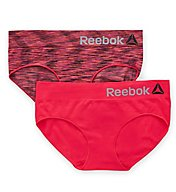 Reebok Seamless Spacedye Hipster Panty - 2 Pack 173UH13