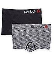 Reebok Seamless Spacedye Boyshort Panty - 2 Pack 173UH14