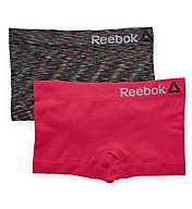 Reebok Seamless Spacedye Boyshort Panty - 2 Pack 173UH14