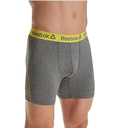 Reebok Melange Performance 6 Inch Boxer Brief 181UH12
