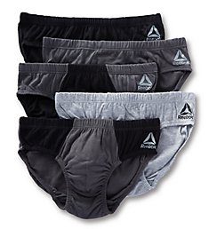 Reebok Low Rise Fashion Briefs - 5 Pack 183PB15
