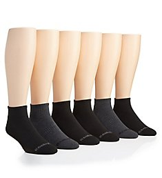 Reebok Multi-Sport Quarter Socks - 6 Pack 183QT01