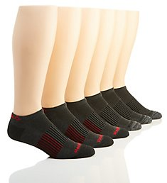 Reebok Men's Low Cut Compression Socks - 6 Pack 191LC30