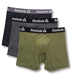 Reebok Birdseye Mesh Performance Boxer Briefs - 3 Pack 193PB37