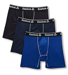 Reebok Ultimate Performance Boxer Briefs - 3 Pack 193PB38