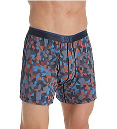 Saxx Underwear Loose Cannon Printed Boxer With Fly SXLF71F