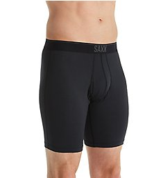 Saxx Underwear Quest Long Leg Boxer Brief with Fly SXLL70F