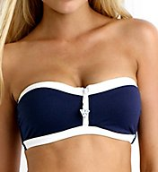 Seafolly Block Party Bandeau Bustier Swim Top 30467