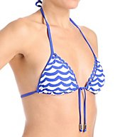 Seafolly Tidal Wave Slide Triangle Swim Top 30586