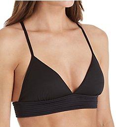 Seafolly Basic Quilted Fixed Tri Bikini Swim Top 30909