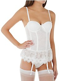 Seven 'til Midnight Victorian Lace Bustier And Thong Set 9103
