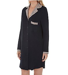 Shadowline Before Bed 36 Inch Notched Collar Sleepshirt 65044