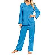 Shadowline Petals Long Sleeve Pajama 76283