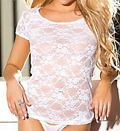 Shirley of Hollywood Lace T-Shirt 2116