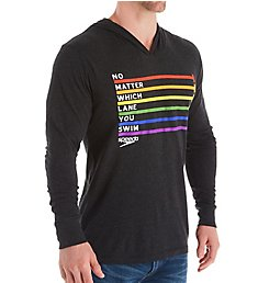 Speedo Pride Pull Over Hooded T-Shirt 7201404