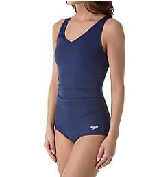 Speedo Endurance+ Side Shirred One Piece Swimsuit 7234000