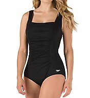 Speedo Endurance+ Shirred Tank One Piece Swimsuit 7234015