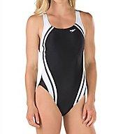 Speedo Powerflex Eco Quantum Splice One Piece Swimsuit 7235051