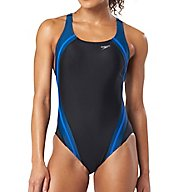 Speedo Powerflex Eco Quantum Splice One Piece Swimsuit 7235051