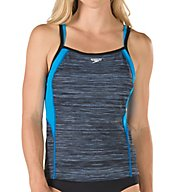 Speedo Texture Double Strap Tankini Swim Top 7723035