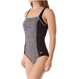 Speedo Texture Square Neck One Piece Swimsuit 7723082