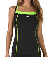 Speedo Endurance+ Double Strap Tankini Swim Top 7723132