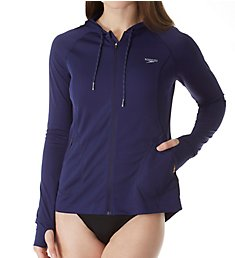 Speedo Full Zip Long Sleeve Hoodie Coverup 7723184