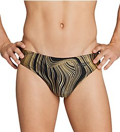 Speedo Dripping In Gold Swim Brief 7730217