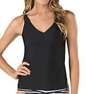 Speedo Powerflex Eco Strappy Tankini Swim Top 7734097