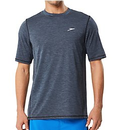 Speedo Space Dye Short Sleeve Swim Tee 7748032