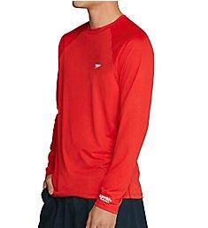 Speedo Easy Regular Fit Long Sleeve Swim Shirt 7748221