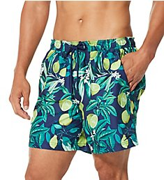 Speedo Summer Yield Citrus Print Swim Volley 7784151