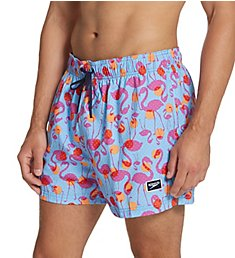 Speedo Vibe Spotted Flamingo 14 Inch Volley 7784353