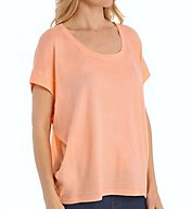 Splendid Very Light Jersey Circle Top Tee ST9143