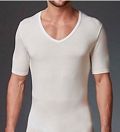 Stanfield's Invisible Modal Blend Deep V-Neck Undershirt 9670