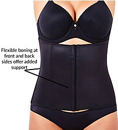 TC Fine Intimates Midriff Shaping Hook and Eye Waist Cincher 4078