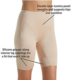 TC Fine Intimates Boost & Reduce Waistline Rear Lift Thigh Slimmer 4326