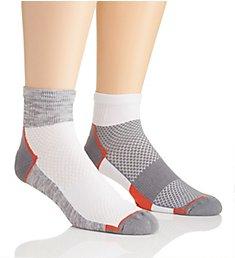 The Comfort Sock AriKool Quarter Socks - 2 Pack 15400402
