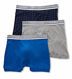 Van Heusen Men's Cotton Boxer Briefs - 3 Pack 171PB08