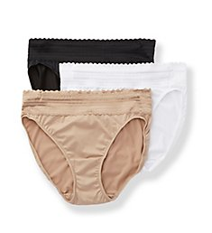 Warner's No Pinching No Problems Hi-Cut Brief Panty -3 Pack 5109PK