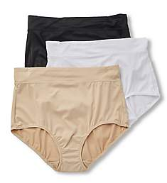 Warner's No Pinching No Problems Tailored Brief - 3 Pack 5738PK