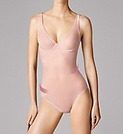 Wolford Sheer Touch Forming String Bodysuit 79094