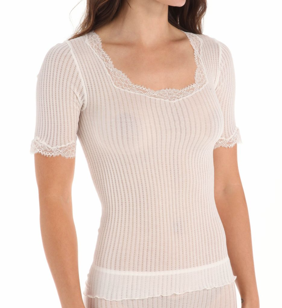 Zimmerli Maude Prive Short Sleeve Tee 2602188