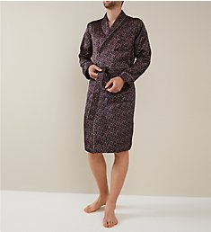 Zimmerli 100% Silk Long Sleeve Robe 75131
