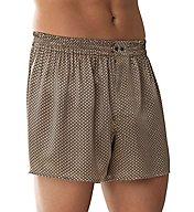Zimmerli 100% Silk Pattern Boxers ZN11A